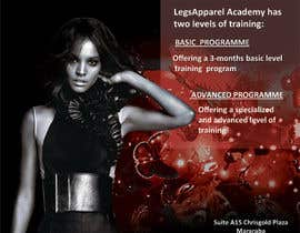 #6 untuk Design a Fashion School Catalog and Flyer for LegsApparel oleh mydZnecoz