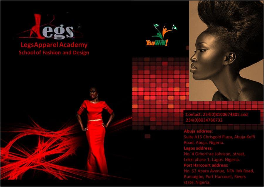 Konkurrenceindlæg #                                        9                                      for                                         Design a Fashion School Catalog and Flyer for LegsApparel