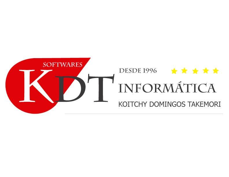 Inscrição nº 64 do Concurso para Projetar um Logo for KDT informatica