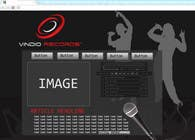 Graphic Design Contest Entry #2 for Website Design for Vindio Records, LLC a record label