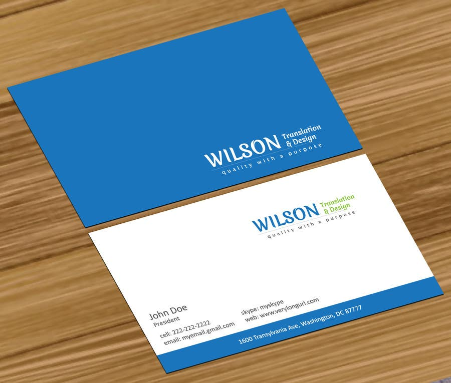 Kilpailutyö #2 kilpailussa Design Logo and Namecards for Translation Business