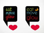 Graphic Design Konkurrenceindlæg #296 for Logo Design for EAT | MOVE | GLOW