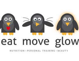 #313 para Logo Design for EAT | MOVE | GLOW por JoGraphicDesign