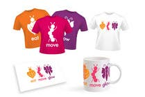 Graphic Design Konkurrenceindlæg #424 for Logo Design for EAT | MOVE | GLOW