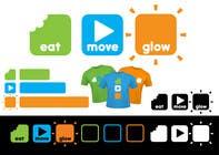 Graphic Design Konkurrenceindlæg #144 for Logo Design for EAT | MOVE | GLOW