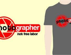 kangibad tarafından Design a Logo T-shirt for Photographers Movement için no 17