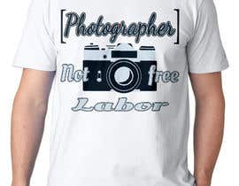 #35 for Design a Logo T-shirt for Photographers Movement by oobqoo