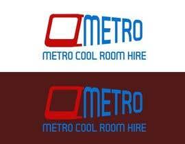 winkeltriple tarafından Metro Cool Room Hire Logo Design için no 103