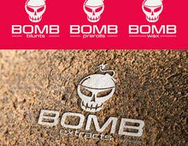 #255 for Bomb Extracts Logo Creative by sinzcreation