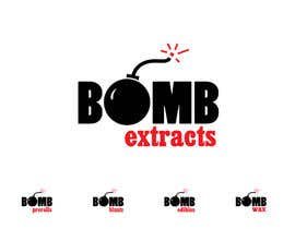 #168 for Bomb Extracts Logo Creative by NamalPriyakantha