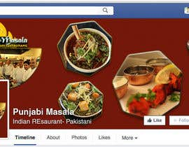 ChowdhuryShaheb tarafından Design a Facebook cover photo for an indian restaurant için no 3