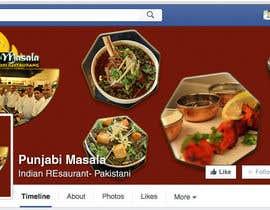 Nro 3 kilpailuun Design a Facebook cover photo for an indian restaurant käyttäjältä ChowdhuryShaheb