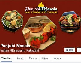 ChowdhuryShaheb tarafından Design a Facebook cover photo for an indian restaurant için no 6