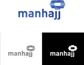 #48 for MANHAJJ Logo Design Competition by momonoa