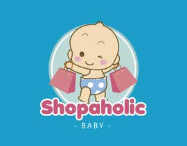 #32 for Design a Logo for a baby and children's store called shopaholic Baby af MaryorieR