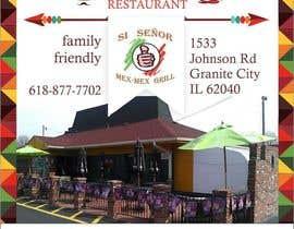 "Nro 1 kilpailuun Design Small Print Ad for Mexican Restaurant Ad (2.6"" x 2.6"") käyttäjältä danibell"