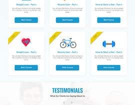 Nro 64 kilpailuun Design a Website Mockup - Training Course Platform käyttäjältä rashinp