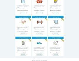 Nro 116 kilpailuun Design a Website Mockup - Training Course Platform käyttäjältä nikdesigns