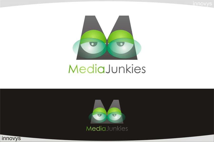 Penyertaan Peraduan #                                        130                                      untuk                                         Logo Design for Media Junkies