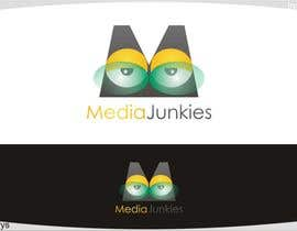#129 para Logo Design for Media Junkies por innovys