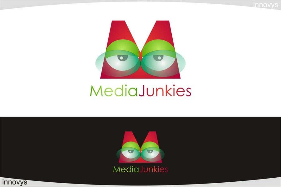 #134 for Logo Design for Media Junkies by innovys