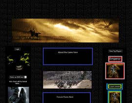 #15 for Design MMORPG landing page by Snakezzz