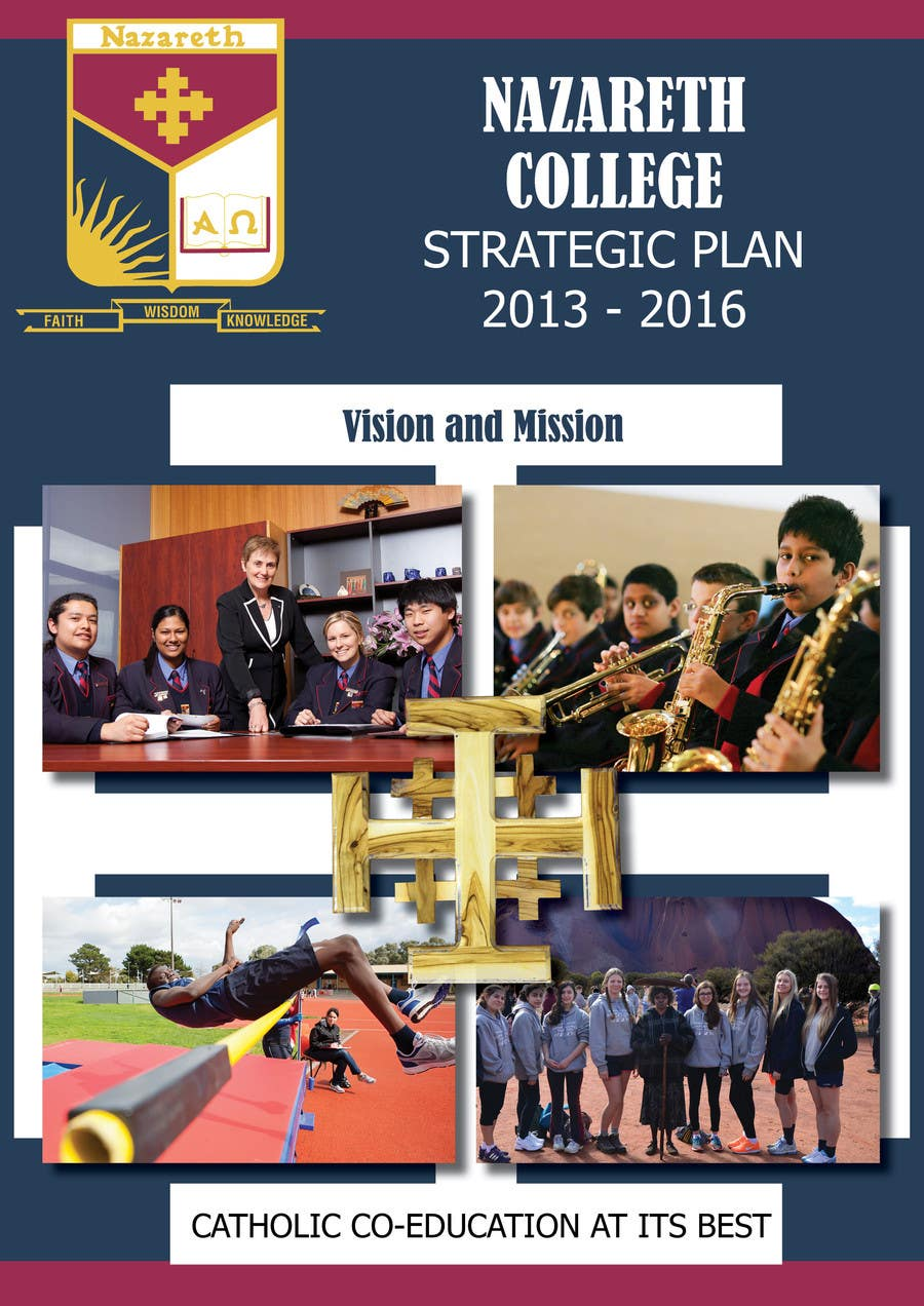Contest Entry #4 for Design a front cover for a Strategic Plan (A4)