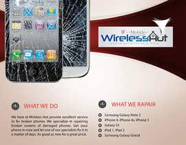 #10 untuk Design a Banner for cell phone repair oleh sammi67