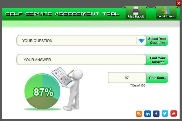 Inscrição nº 1 do Concurso para Create an online self-assessment tool / calculator
