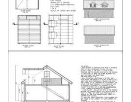 #4 para Design a double garage with loft por badrev71