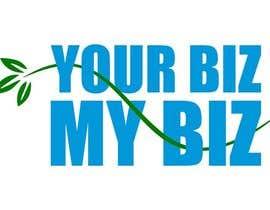"dishamody tarafından I need a logo designed for ""Your Biz My Biz"" best design will get a lot more work. -- 1 için no 8"
