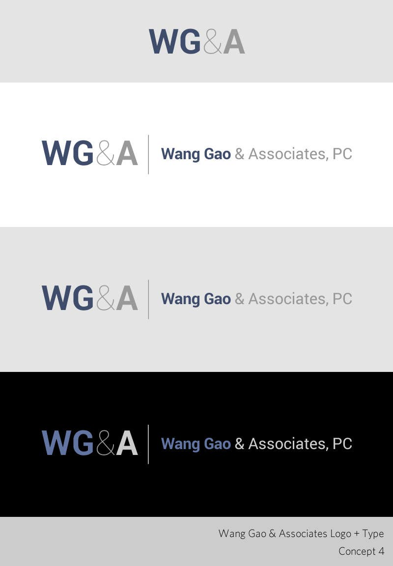 Contest Entry #130 for Design a Logo for Wang Gao & Associates, PC.