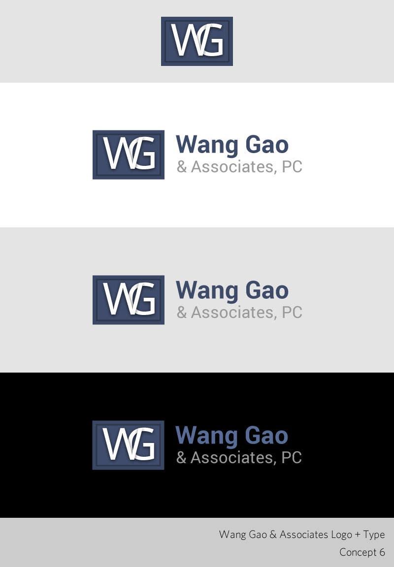 Proposition n°133 du concours Design a Logo for Wang Gao & Associates, PC.