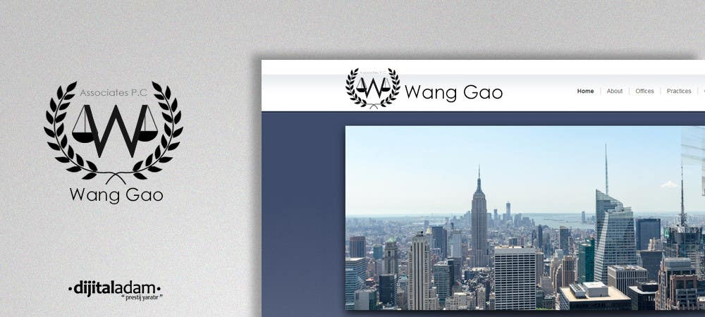 Proposition n°1 du concours Design a Logo for Wang Gao & Associates, PC.