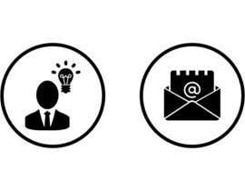 Nro 28 kilpailuun Design 4 Icons for our Contact us page käyttäjältä shaggyshiva