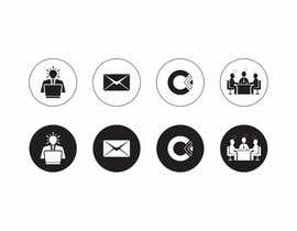 #33 for Design 4 Icons for our Contact us page by DesignApt