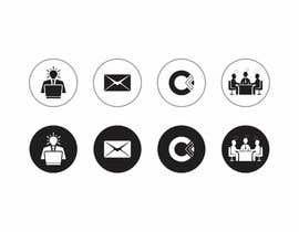 Nro 33 kilpailuun Design 4 Icons for our Contact us page käyttäjältä DesignApt