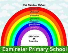 Nro 2 kilpailuun Rainbow design for UK school käyttäjältä jaretdutour