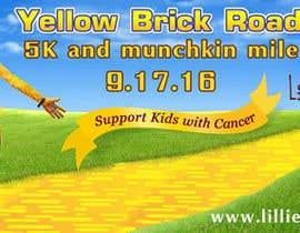 Nro 17 kilpailuun Yellow Brick Road 5K Banner/Billboard käyttäjältä MintKK