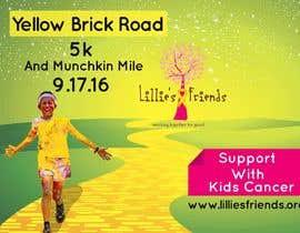 Nro 14 kilpailuun Yellow Brick Road 5K Banner/Billboard käyttäjältä shamim111sl