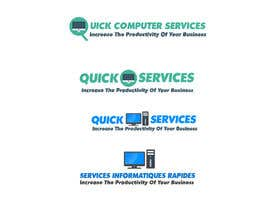 nº 1 pour Design a Logo for Quick Computer Services par uhassan