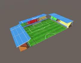 Nro 4 kilpailuun Create Low Poly Football/Soccer Stadium with Goalposts and pitch texture käyttäjältä myonjinsol