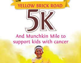 Nro 8 kilpailuun Yellow Brick Road 5K Race Brochure käyttäjältä kunjanpradeep