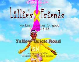 Nro 2 kilpailuun Yellow Brick Road 5K Race Brochure käyttäjältä fuegoyceniza