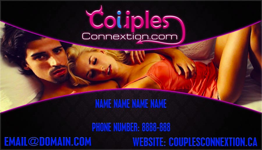 Contest Entry #20 for Design some Business Cards for swingers website