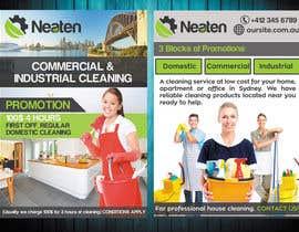 Nro 1 kilpailuun Design a Flyer for our Domestic Cleaning Promotion käyttäjältä jessikaguerra