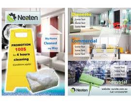 Nro 8 kilpailuun Design a Flyer for our Domestic Cleaning Promotion käyttäjältä ArtDivya