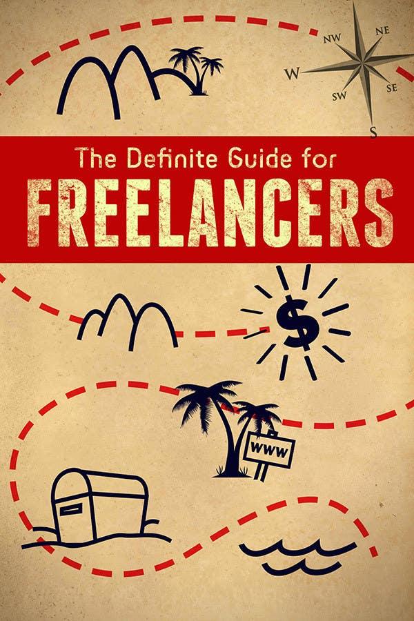 Inscrição nº 13 do Concurso para develop cover for my ebook The Definite Guide for Freelancers