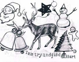 #34 for Cute Christmas Drawings af FirmantoHenry