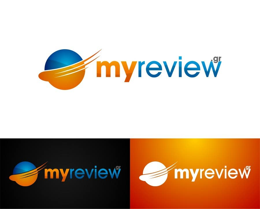 #154 for Logo Design for myreview.gr by ToniZufic